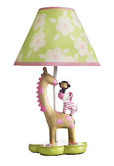 Carter's Jungle Jill Lamp Base & Shade