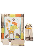 Carter's® Wild Life 4-Piece Crib Set