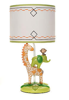 Wild Life Lamp Base & Shade