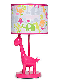 Safari Brights Lamp Base & Shade Set