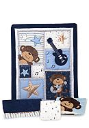 Carter's® Monkey Rockstar 4-Piece Crib Set