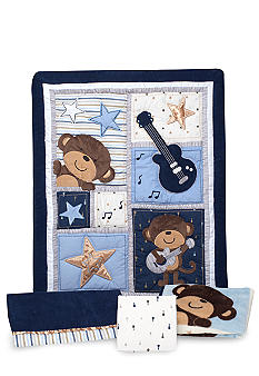 Carter's Monkey Rockstar 4-Piece Crib Set
