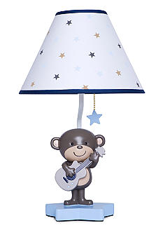 Monkey Rockstar Lamp Base & Shade