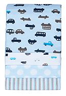 Carter's® 4-Pack Blue Cars Receiving Blanket Set