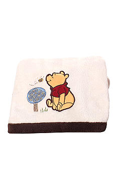 Carter's Friendship Pooh Boa Blanket