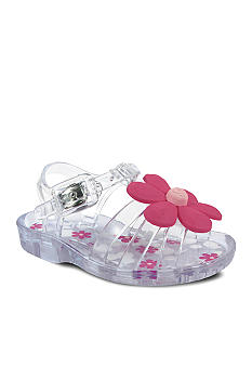 Nursery Rhyme Clear Flower Sandal