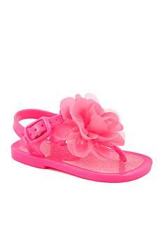 Nursery Rhyme Floral Jelly Sandal