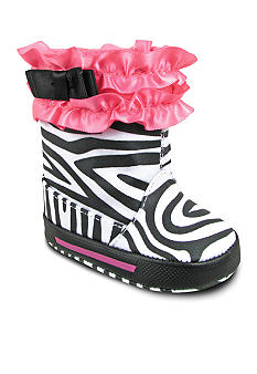 Nursery Rhyme Zebra Fashion Boot