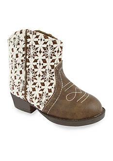 Nursery Rhyme® Lea Natural Crochet Boots