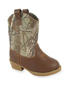 Nursery Rhyme® Real Tree Camo Western Boots