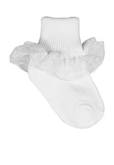 Baby Deer White Bootie Sock Infants