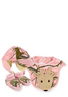 Nursery Rhyme® Camo Deer Bib, Hat & Sock Set
