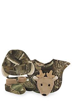 Nursery Rhyme® Real Tree Camo Hat, Bib, & Sock Set