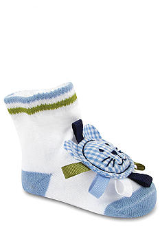 Nursery Rhyme 2-Pair 3-D Lion Sock Set