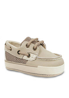 Nursery Rhyme Leather Deck Lace-Up Boat Shoe