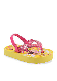 Nursery Rhyme Pink Princess Flip Flop Shoe