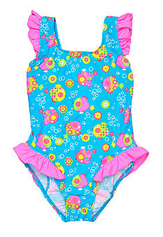 J Khaki Bubble Fish One Piece Girls