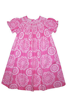 Marmellata Spiral Smock Dress Toddler Girls
