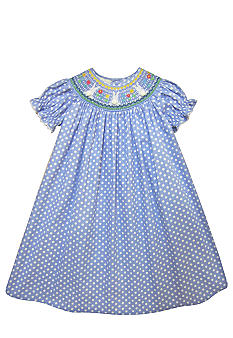 Marmellata Bunny Smock Dress Toddler Girls