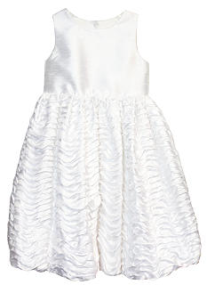 Pippa & Julie Ruffle Bubble Skirt Flower Girl Dress Toddler Girls - Online Only