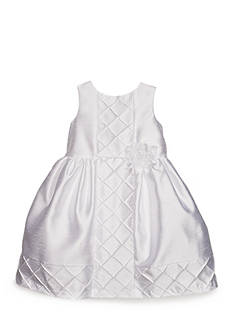 Marmellata Shantung Diamond Tuck Dress Girls Toddler Girls