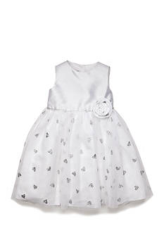 Marmellata Glitter Heart Ballerina Dress Toddler Girls