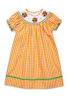 Marmellata Turkey Smock Dress Toddler Girls