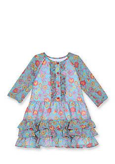 Marmellata Chiffon Floral Dress Toddler Girls