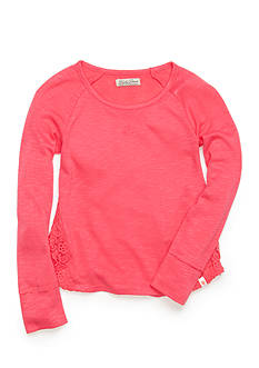 Lucky Brand Crotchet Lace Top Toddler Girls