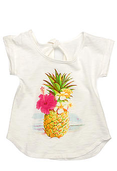 Lucky Brand Pineapple Tee Toddler Girls