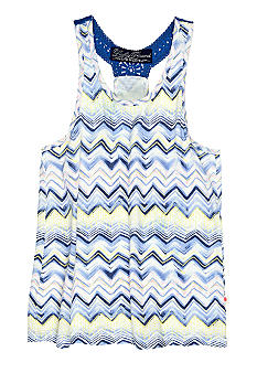 Lucky Brand Zig Zag Print Knit Top Toddler Girls