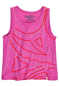Lucky Brand Embellished Geographic Art Tank Toddler Girls