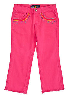 Lucky Brand Cate Skinny Capri Toddler Girls