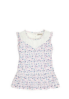 Lucky Brand Ashlyn Floral Tunic Toddler Girls