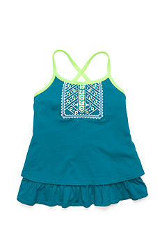 Lucky Brand Issadora Embroidered Tiered Tank Top Toddler Girls