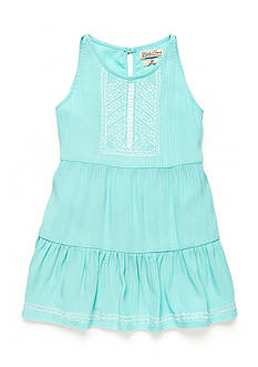 Lucky Brand Abilyn Gauze Tiered Dress Toddler Girls