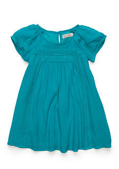 Lucky Brand Crinkle Gauze Dress Toddler Girls