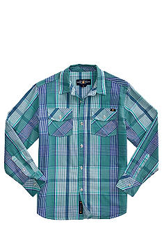 Lucky Brand Nijo Woven Plaid Shirt Toddler Boy