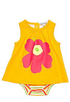 Marimekko Orange Flower Sunsuit