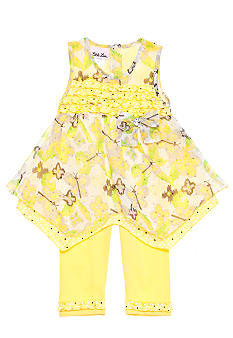 Little Lass Hanky Hem Legging Set