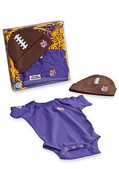 Future Tailgater™ LSU Tigers Baby Football Cap Set