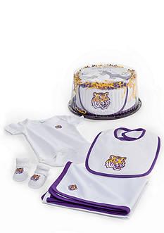 Future Tailgater™ LSU Tigers Baby Fan Cake Gift Set