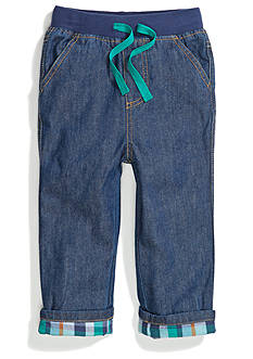 Nursery Rhyme Play™ Fashion Knit Waistband and Roll Cuff Pants