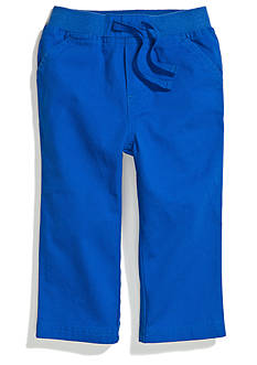Nursery Rhyme Play™ Flat Front Twill Pant
