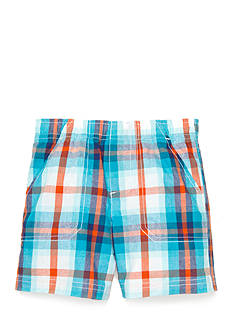 Nursery Rhyme Play™ Plaid Pull On Shorts