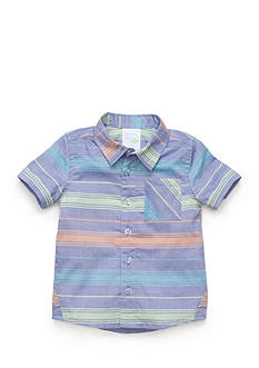 Nursery Rhyme Play™ Striped Button Front Shirt