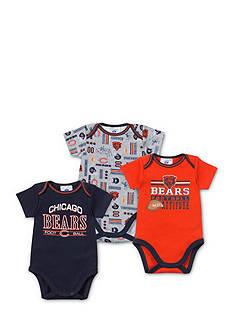 NFL Chicago Bears 3-Pack Bodysuits Set
