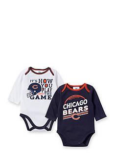 NFL Chicago Bears 2-Pack Long Sleeve Bodysuits Set