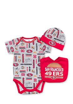 NFL San Francisco 3-Piece 49ers Bodysuit Set