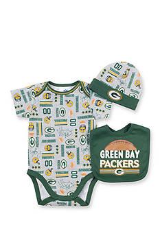 NFL Green Bay Packers 3-Piece Bodysuit Set